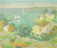 looking toward the sea, st. ives, cornwall by mary nicholena maccord