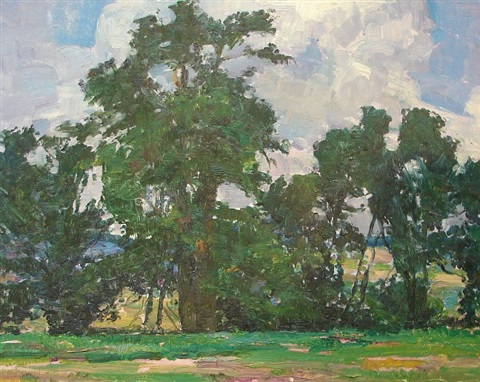shade trees by louis b sloan