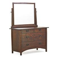 dresser w/mirror by harvey ellis