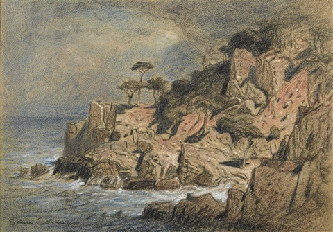 point lobos monterey california by samuel colman