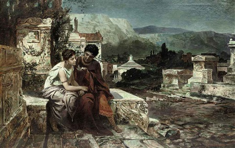 a night in pompeii by emmanuel oberhauser