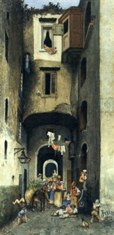 the alley way by domenico pesenti
