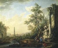 italienische landschaft by lorens (lars) gottman