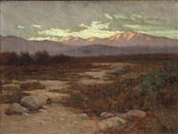 desert serenity by elmer wachtel