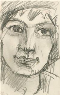 porträt der tänzerin mademoiselle loup by ferdinand hodler