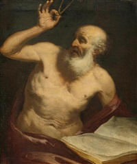 archimedes by giovanni battista langetti