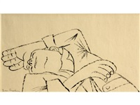 coral vets #8 - dying man by ben shahn