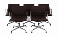 5x aluchair ea 108 (set of 5) by charles and ray eames