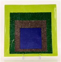 study for homage to a square by josef albers