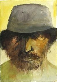 polish jew, 1979 by leonard baskin
