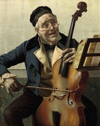 the cellist by f. avito