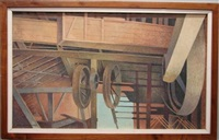 grain chutes & mill wheels by katherine steele renninger