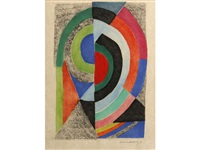 unititled (semi-circles) by sonia delaunay-terk