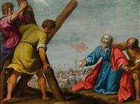 martyrium des heiligen andreas by lorenzo lippi