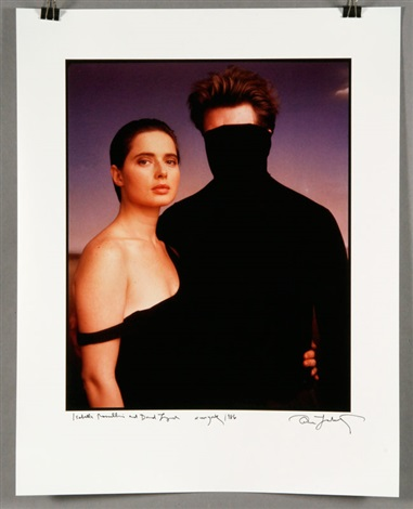 isabella rossellini and david lynch new york by annie leibovitz