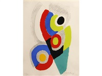 untitled (circular composition) by sonia delaunay-terk