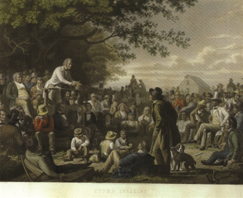 stump speaking by gautier by george caleb bingham