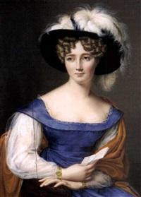 portrait einer dame by pauline augustin