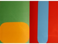 derrière le miroir, no. 149 by ellsworth kelly
