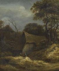 landschaft mit bauernhaus by salomon rombouts