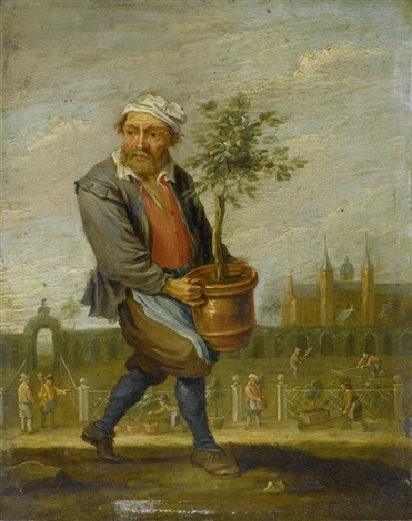 allegorie der vier jahreszeiten set of 4 by david teniers the younger