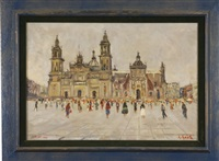 cathedral in mexico city by george gach