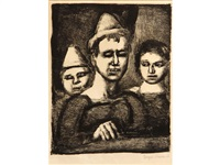 le trio by georges rouault