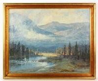 california landscape by jack wilkinson smith