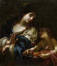 heilige dorothee by simone pignoni