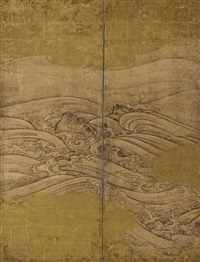 rocks and waves by japanese school-hasegawa (17)