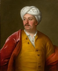portrait of an ottoman dignitary by andrea soldi