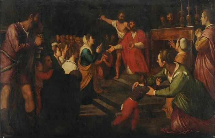 das martyrium by jacopo palma il giovane
