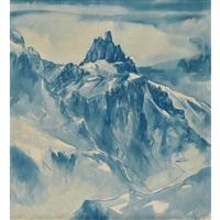 tschingelochtighorn 2738 m (berneroberland) by walter krebs