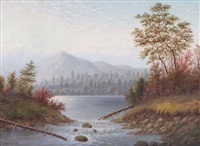 a new york landscape by howard l. hill