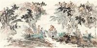 溪上问话 by gu ping