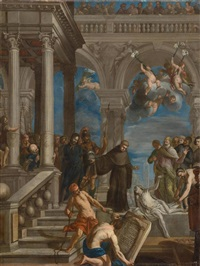 wunder des heiligen antonius by francesco rosa