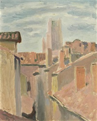 les toits roses, albi by wilhelm gimmi