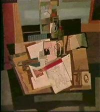 atelier-stilleben by otto fischer-trachau