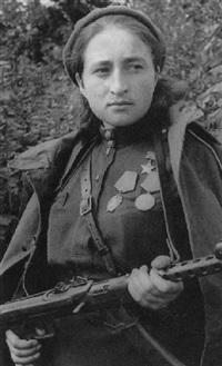 maria scherbaschenko, krankenschwester by olga ignatovich