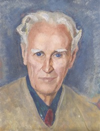 portrait of frank townshend by lilias torrance newton