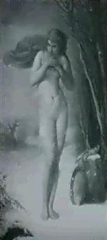 la nymphe en hiver by joseph nichols hippolyte aussandon