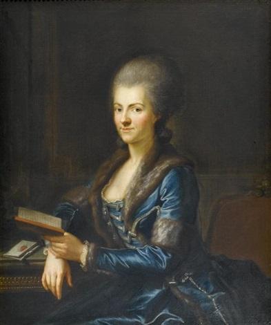 portrait der elisabeth sulzer aus winterthur by anton graff