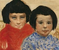母女 by alfred théodore joseph bastien
