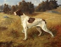 pointer in a landscape by louis contoit