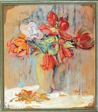 blumen in vase by wolfgang von websky
