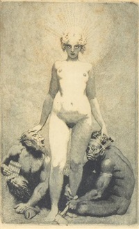 creative effort by norman alfred williams lindsay