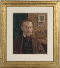 portrait of a chinese trade merchant by james b. coughtrie
