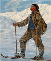 bergführer christian guler by hans beat wieland