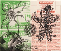 untitled (voodoo doll and spider) by david wojnarowicz