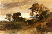 landscape by william keith
